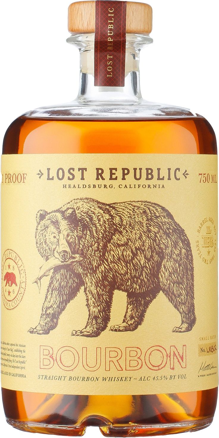 Lost Republic Straight Bourbon