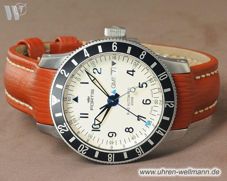 Fortis B42 Diver GMT, Referenznummer: 650.10.148, Herrenuhr, 2. Zeitzone, Gehäusematerial: Stahl (4207) -- www.uhren-wellmann.de --