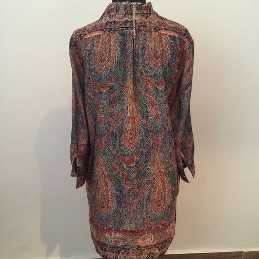 Vestido camisero de Zara - Chicfy