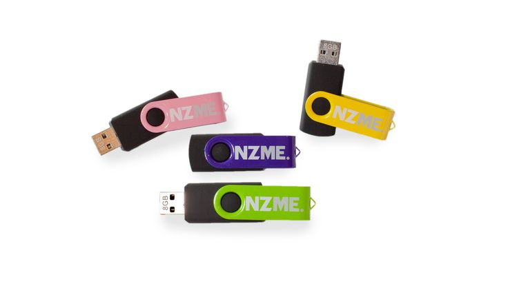 Our friends at Fluxx have recently managed a conference for their client NZME.  Fluxx had us provide these attractive USBs which were loaded with conference information and given to delegates.