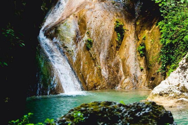 greek waterfall