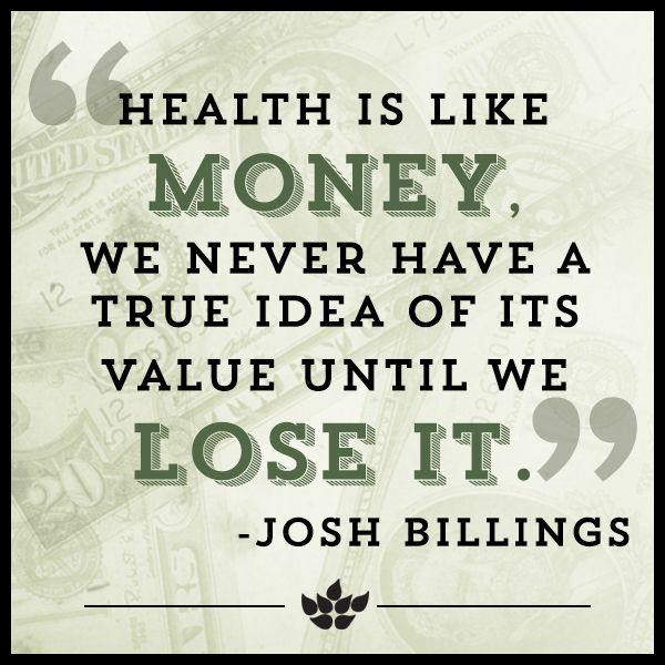 17 Quotes About Health & Wellness That Will Make You Want to Eat Better, Live Longer & Smile More