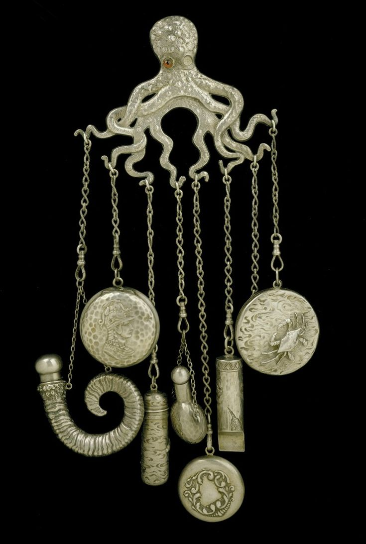 best Chatelaine images on Pinterest Ancient jewelry Antique