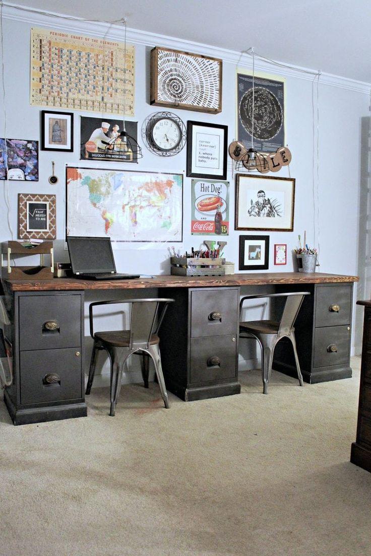 Diy Filing Cabinet Desk File Cabinet Desk Diy Diy Office Desk File Cabinet Desk