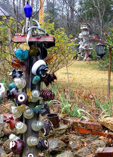 I was wondering what to do with all my old insulators!