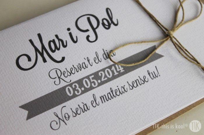Mar y Pol. #invitaciones #boda #personalizado #handmade