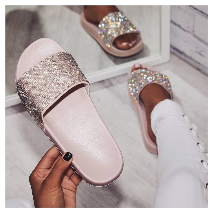 Vibe Diamante Slider In Grey Rubber. Sign up to newsletter for 15% off discount. #egosquad #egoofficial #shoes #shoesoftheday #fashion #fashiontips #onlineshoes #shoelover #showmyshoes #flats #sliders