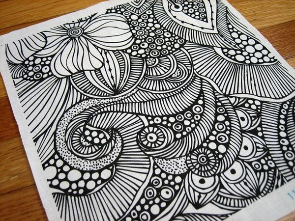 17 best ideas about easy doodle art on pinterest doodle for Creative drawing ideas for beginners