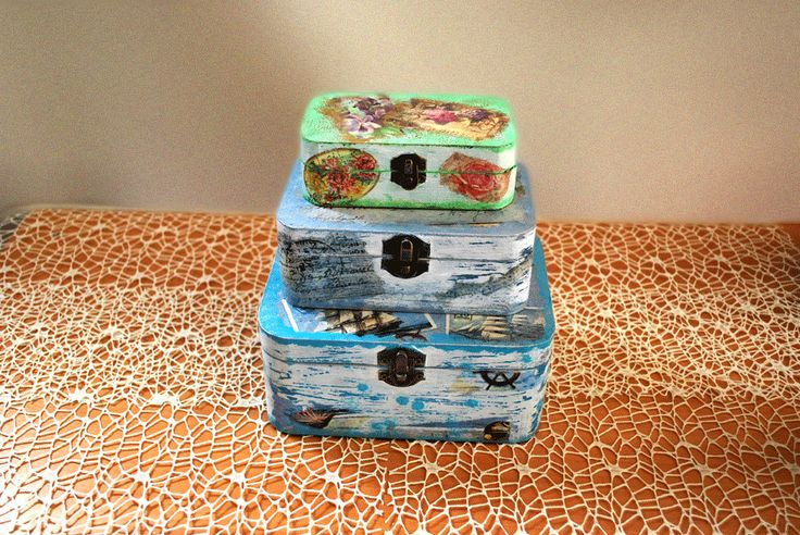 Babushka Jewelry box, Decorative box,Wooden box, Vintage jewelry box,Gift box, Keepsake box,Storage box,Christmas gift.Hand made in Greece. by edsArtists on Etsy