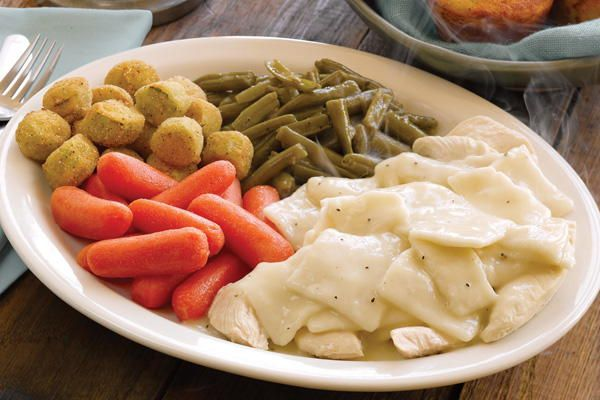For the ultimate in down-home country cooking, try this recipe for Homemade Cracker Barrel Chicken n' Dumplins.
