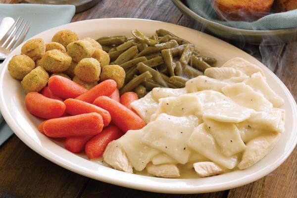 Homemade Cracker Barrel Chicken and Dumplings | Recipe ...