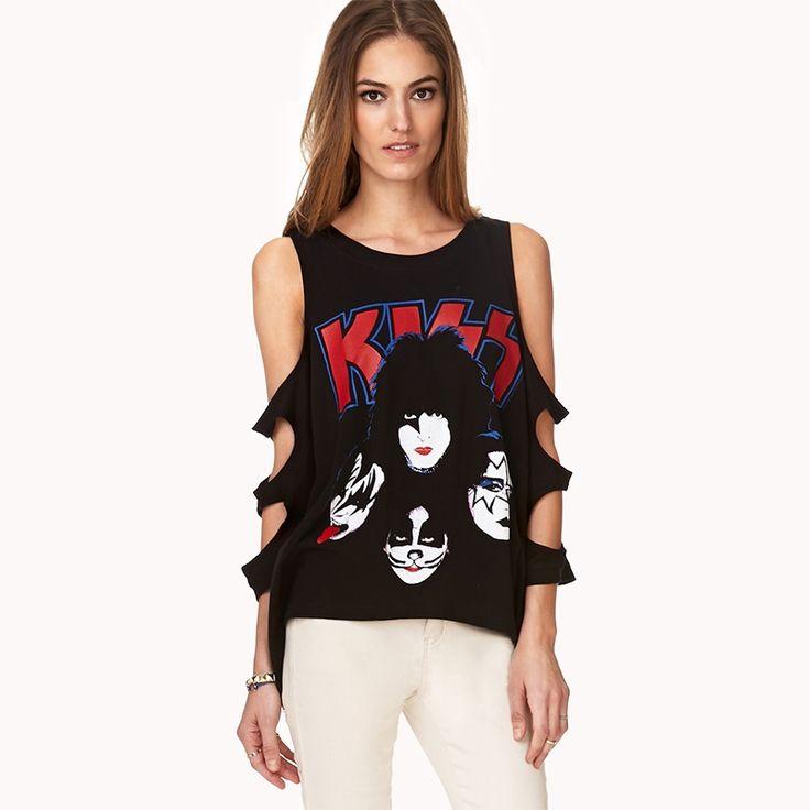 T Shirt Women PLUS SIZE Punk Rock Fashion Tops Camisetas roupas femininas camisas mujer Tshirt Women's Clothing Clothes 0616-39C