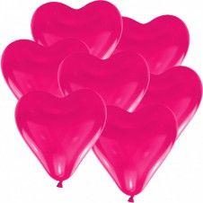 """Hochzeitsballons """"Herz"""" in Pink"""