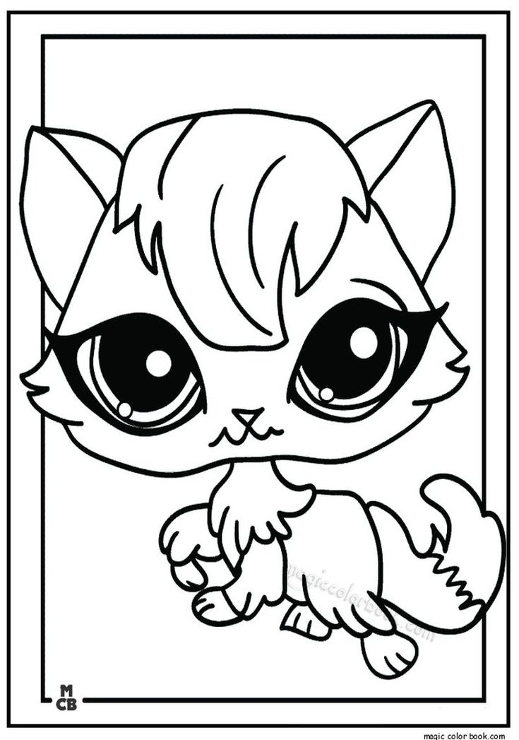 Littlest Pet Shop Coloring Pages Coloring Pages For Kids