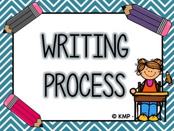 FREEBIE FRIDAY #3 in June!Use this Writing Process Poster Set to display in your classroom. Students can keep track of their own progress during writing pieces when observing and using this poster set.If you download, please leave feedback! :)