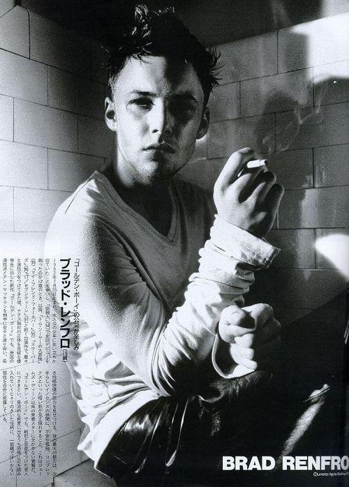 Brad Renfro + Cigarette
