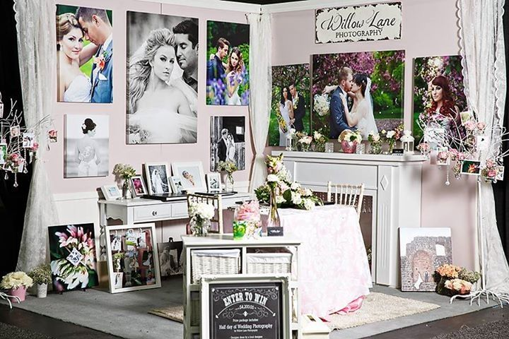 Bridal Show Booth by Willow Lane Photography, Edmonton, AB September 2013
