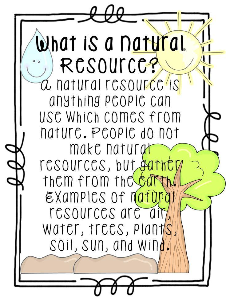 natural resources worksheets google search kindergarten pinterest natural student. Black Bedroom Furniture Sets. Home Design Ideas