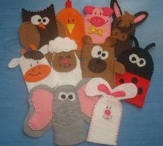quiet book page finger puppet - Google Search