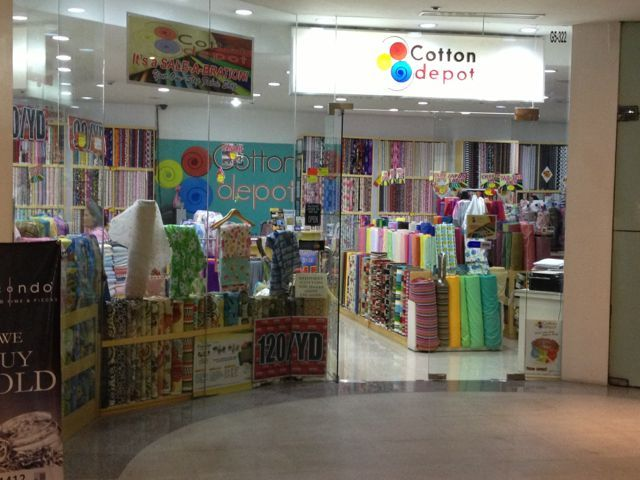Cotton depot glorietta 5 top floor best selection in malls for 100 cotton both printed and plain store is well arranged so you can actually see all the
