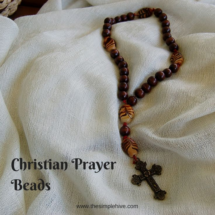 Christian Prayer Beads. What they are and how to use them in prayer. - the simple hive