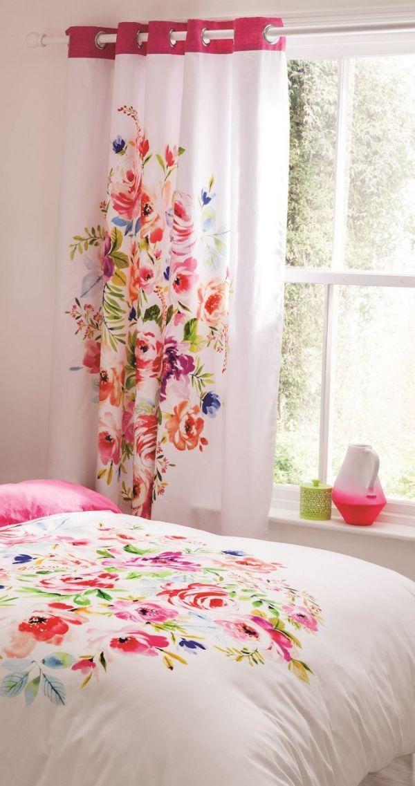 Komplet zasłon Bright Floral 168x183cm