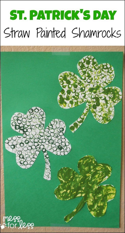 633 best st patricks day images on pinterest craft activities st patricks day straw art activity biocorpaavc Gallery