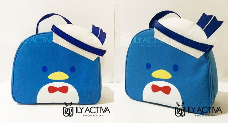 Tuxedo Sam Lunchbag - Uk. 21x27x10cm. Bahan Dinier Soft berspons full dan berfuring nilon (tahan air). SOLD OUT!!