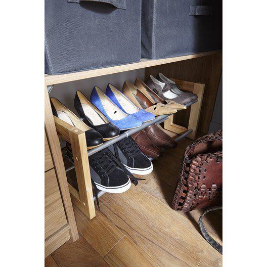 1000 id es sur le th me range chaussures sur pinterest rangements rangements et tag res for Rangement chaussures extensible