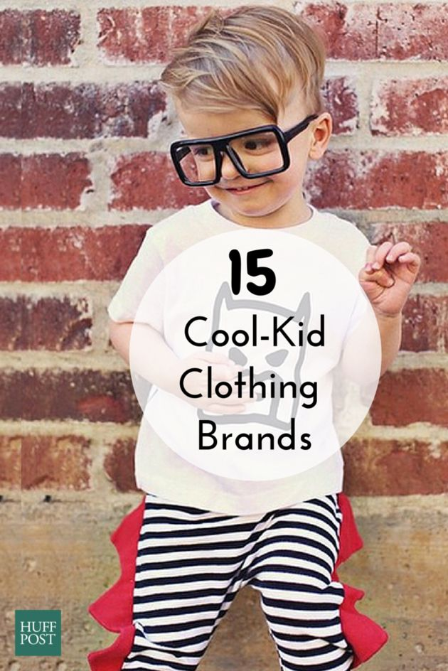 15 Super Cool Kids Clothing Brands That You And Your Little One Will Love