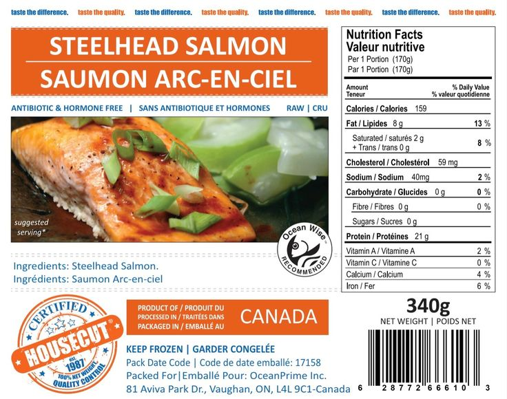 Have you tried our brand new HOUSECUT Certified Steelhead Salmon Portions?  They're @OceanWise recommended https://buff.ly/2gO1iwj?utm_content=buffer0137a&utm_medium=social&utm_source=pinterest.com&utm_campaign=buffer