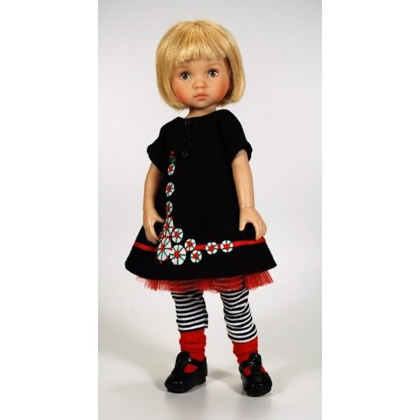 Eva habillée en Petite Bo Peep