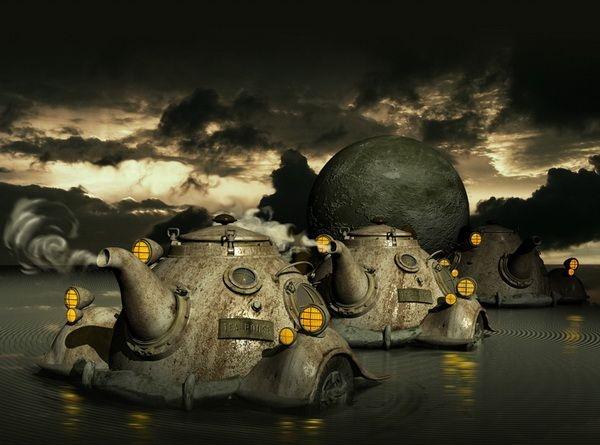 Digital Art by Yuri Laptev