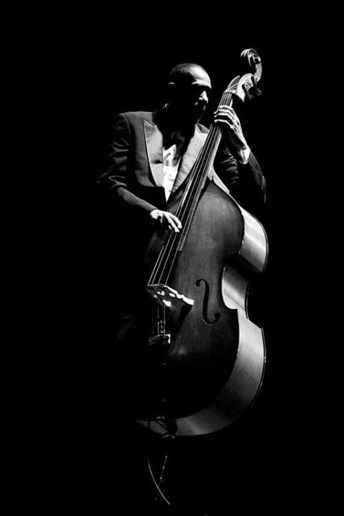 Ron Carter, American jazz double-bassist.