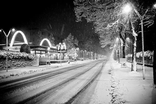 Winter in Reggio Emilia