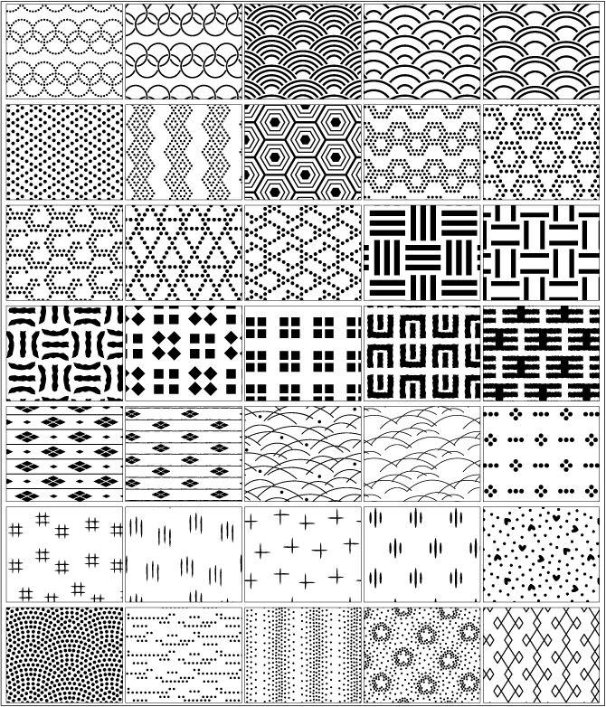 背景・地紋素材集 「日本」の地模様:AP-02270:デジタル素材集 テンプテーション - Yahoo!ショッピング - ネットで通販、オンラインショッピング