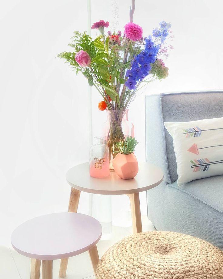 #kwantumnajaar Bijzettafel VARESE > https://www.kwantum.nl/meubelen/tafels/meubelen-tafels-bijzettafels-bijzettafel-varese-grijs-40cm-1344093 @loveitlightandsweet