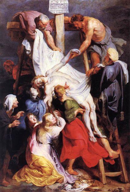Κατέβασμα απο τον Σταυρό. (1616-17)