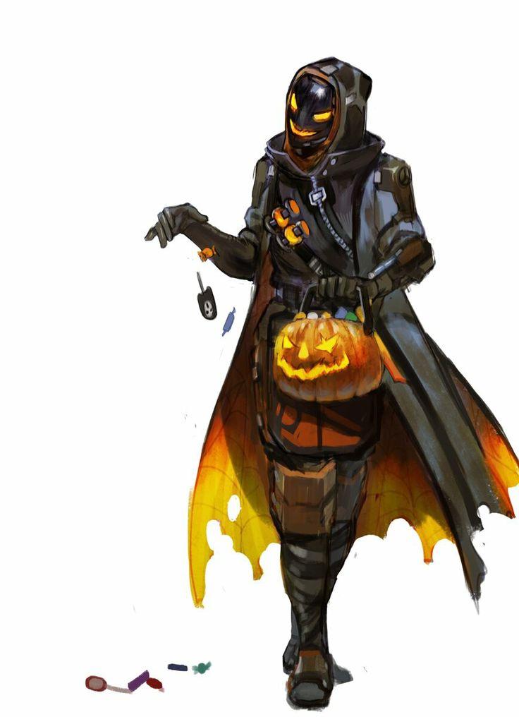 Overwatch Ana, Halloween skin. I love this!
