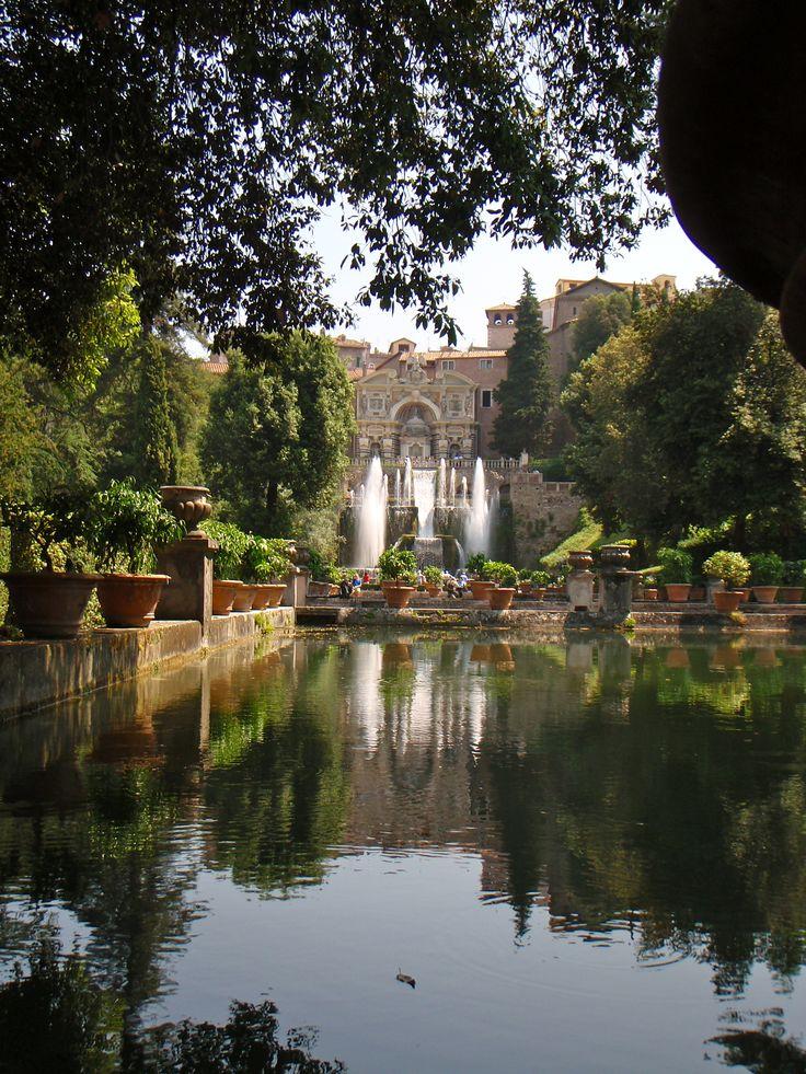 Tivoli Gardens Italy Wanderlust I 39 M Gonna Travel The