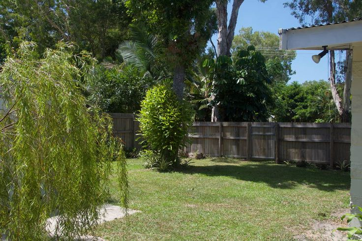 Fully fenced and shady back garden. #port #douglas #holiday #homes #rental