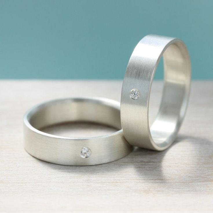 Simple Modern Minimal Ethical Wedding Jewelry from Aide m moire