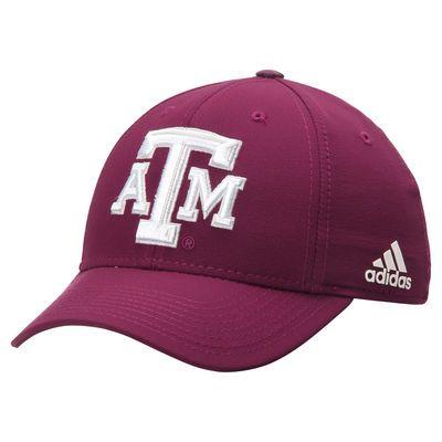 Texas A&M Aggies adidas Sideline Structured Flex Hat - Maroon