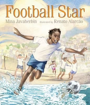 When Paulo Marcelo Feliciano becomes a football star, crowds will cheer his famous name! Then his mother won't have to work long hours, and he won't have to work all day on a fishing boat. For now, Paulo takes care of his little sister Maria (she teaches him reading, he teaches her football moves) and walks her to school, stopping to give his team-mates cheese buns as they set out to shine people's shoes or perform for the tourist crowd.