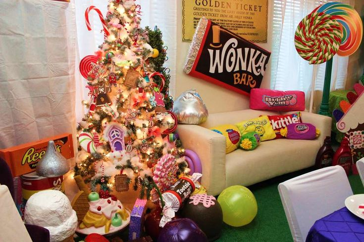 Willy Wonka & Candyland Birthday Party Ideas | Candyland ...
