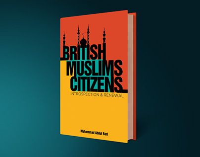 British Muslim Citizens ISlamic Book Cover Design Print
