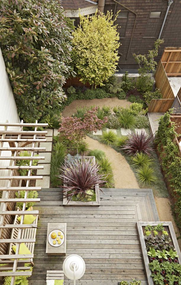 big impact in a pint size sf plot small garden