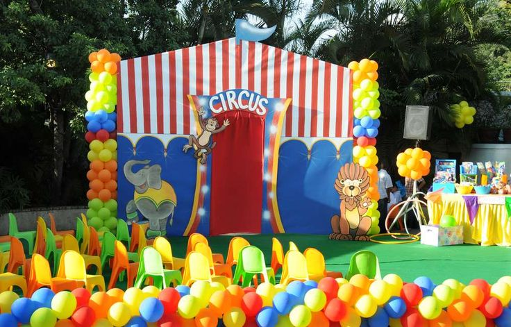 Circus Birthday Party Ideas | Photo 1 of 29 | Catch My Party