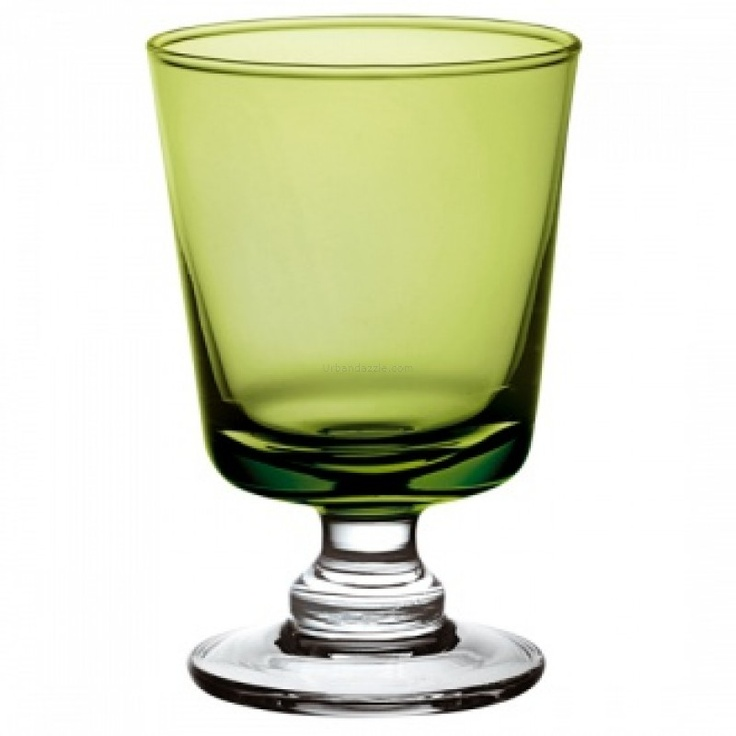 Ego Alter  Sinfonia Goblet Green 370 ml    Chic, earthy and oh so impressive; the Sinfonia Goblet in Green makes for a graceful addition to any crockery collection. Bring out these gorgeous water goblets on special occasions or even if you simply need to pep up your mood, as they will surely touch your lips and soul with a unique warmth.