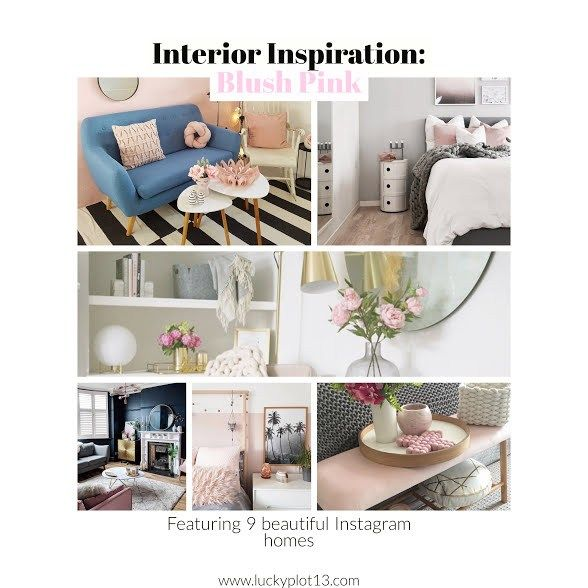 Interior Inspiration: Blush Pink – Lucky Plot 13